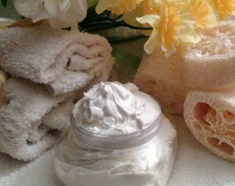 Vanilla Bean Body Butter~Body Butter~Moisturizer~Whipped Body Butter~Aromatherapy~Organic Body Butter~Daily Moisturizer~Lotion~