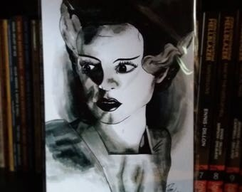 Limited edition Bride of Frankenstein print