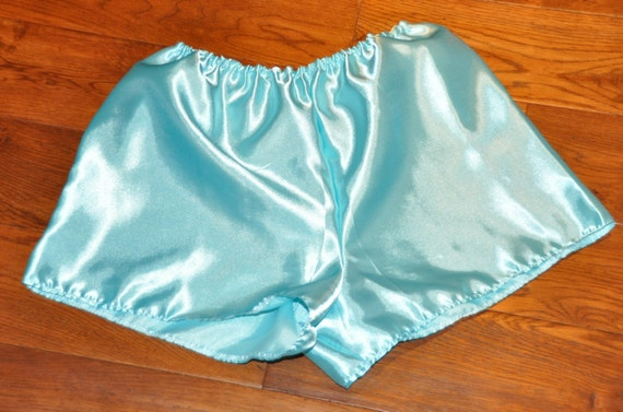 Lovely silky soft satin bloomers / french knickers / boxers, Sissy Lingerie