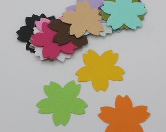 Cherry Blossom: set of die - cut cut-outs