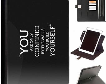 P-SAY02-YOU Luxury Apple ipad 360 swivel i pad leather case cover with card slots you quote