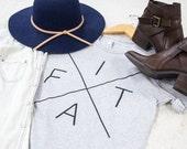 Fiat tee - Preorder - Catholic shirt, catholic apparel, Catholic gifts, catholic gifts for her