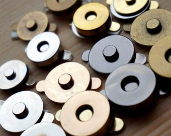 5 Magnets for small bags/tobacco cases at 1,4 cm width (5 items set)