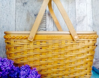 Longaberger basket, picnic