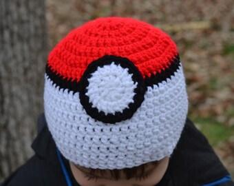 Pokeball Inspired Hat