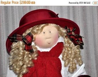"""Little Souls Doll, Little Souls Swanky, Little Souls Angela 24"""", Gretchen Wilson, Cloth Dolls, One-Of-A-Kind, Dolly Mama, Ooak"""