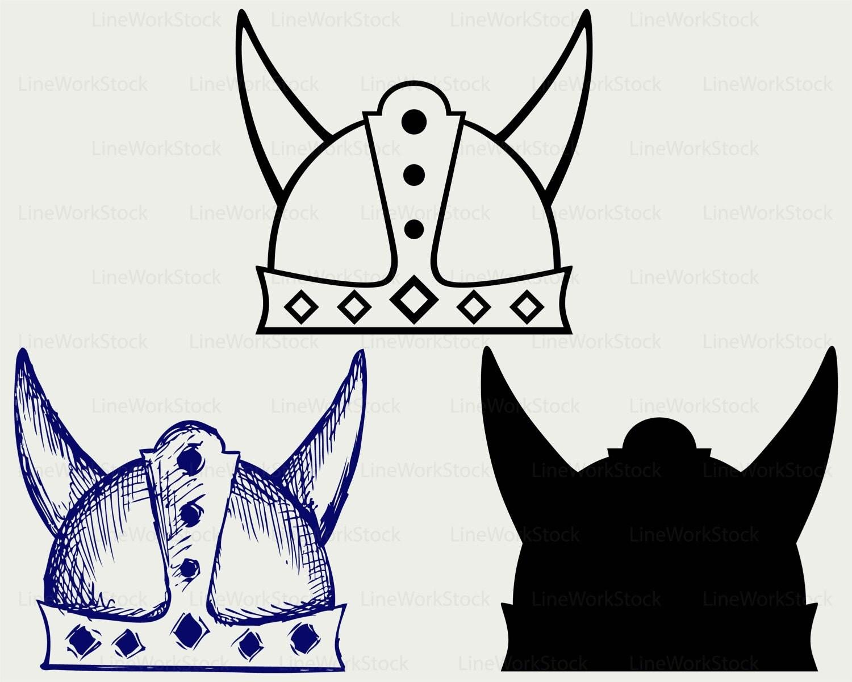 viking helmet svg helmet clipart helmet svg helmet silhouette