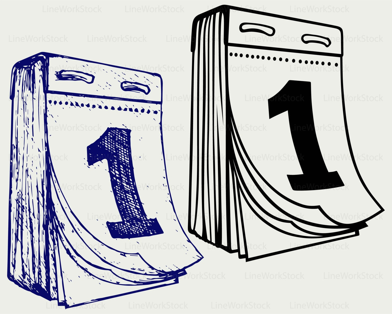 Calendario svg im genes predise adas calendario svg for Clipart calendario