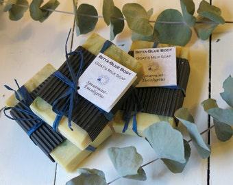 Spearmint-Eucalyptus Goat's Milk Soap