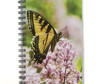 Tiger Swallowtail Butterfly Journal Notebook
