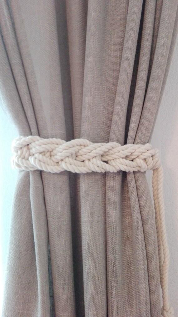 2 pcs curtain tie backs 2 sides nursery curtain tie back gypsy. Black Bedroom Furniture Sets. Home Design Ideas