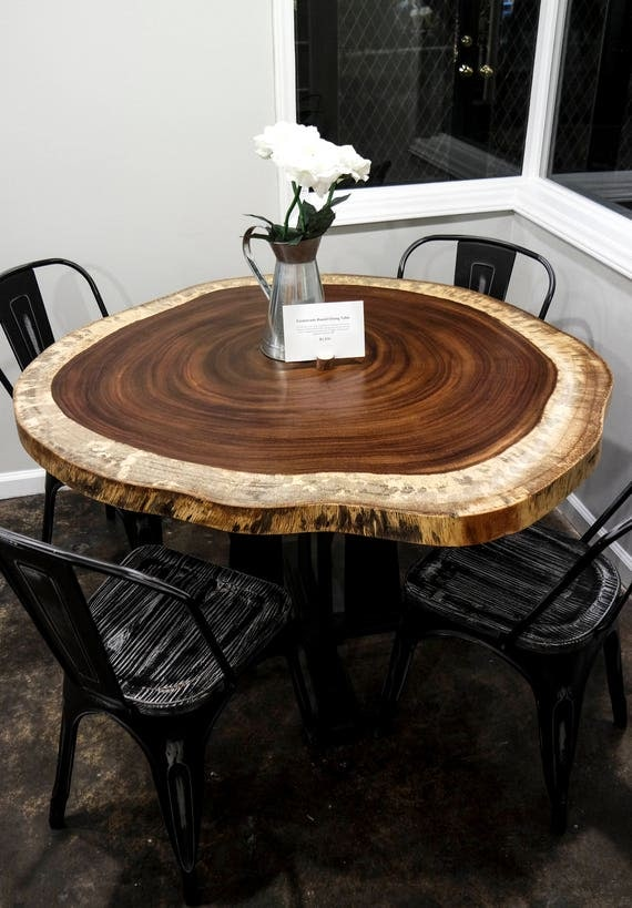 Guanacaste Round Dining Tables