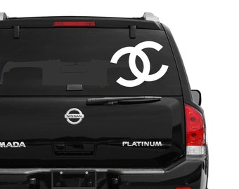Chanel Vinyl Decal LARGE 16in