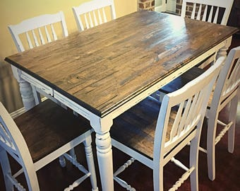 Custom Butcher Block Table Top