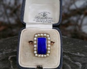Blue Enameled Excellence