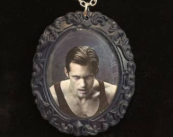 True Blood Eric cameo necklace