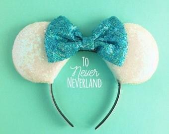 Cinderella Ears, Simple Cinderella Mickey Ears, Cinderella Ears Headband, Cinderella Mickey Mouse Ears, Cinderella Mouse Ears