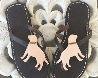 Labrador sandals handmade shoes
