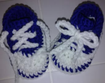 Crocheted Infant High Tops