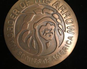 Order of the Arrow Boy Scouts Belt Buckle