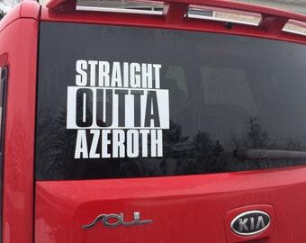 Azeroth Decal