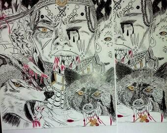 The Lambs Shall Bleed- Art Print