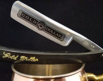 Shave ReadyGold Dollar 66 Straight Razor