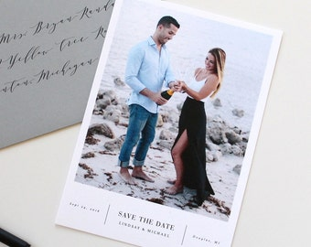 Save the date, simple save the date, modern save the date, simple modern save the date, save-the-date, wedding save the date card, weddings
