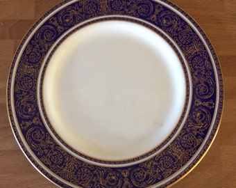 Royal Doulton Imperial Blue china Side plate-collectable -8 available