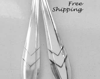"Spoon Bracelet ""Sheffield England""  Spoon Jewelry Fork Bracelet Vintage Jewelry Silver Jewelry Handmade Mothers Day Gift -394"