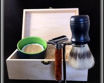 The Complete Safety Razor Shaving Kit