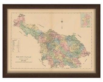 County Cavan - Memorial Atlas of Ireland 1901