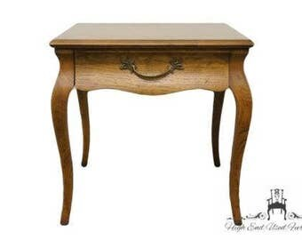 DREXEL HERITAGE Country French Parquetry Top End Table 375-200