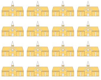 Church Stickers | Faith stickers | School stickers
