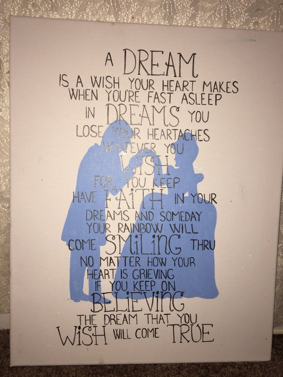 Cinderella quote 'A Dream Is A Wish Your Heart Makes' A Dream Is A Wish Your Heart Makes Shirt