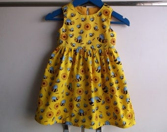 Buzzy bees dress