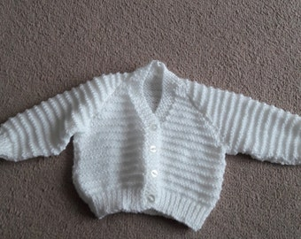 handmade baby cardigan