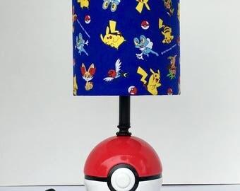 Pokemon Ball Lamp