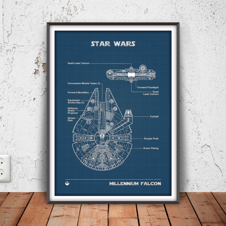 Star Wars Decorations For Bedroom Star Wars Nursery Etsy