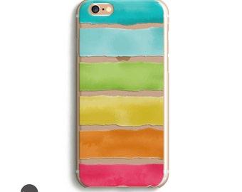 Watercolor iphone 6 case, Watercolor iphone case, iphone 5c, iphone 5s, clear iphone se case, iphone 6s case transparent, iphone 5c case