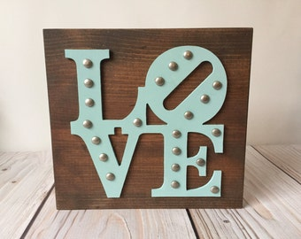 Wood Signs - Rustic Home Decor - Love Sign - Love Decor - Farmhouse Decor - Rustic Signs - Home Decor - Farmhouse Sign - Rustic Wood Signs