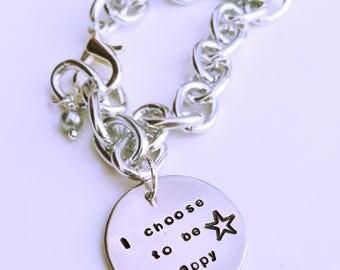 Customizable Locket Bracelet