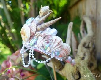 Seashell Mermaid Tiara ---> FREE Domestic Shipping