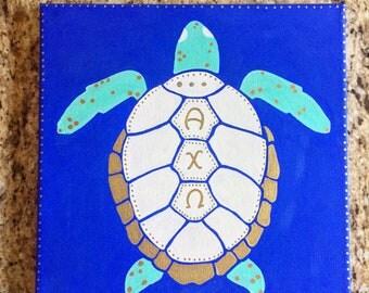 Custom Sorority Turtle