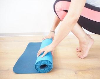 Intuitive umweltfreundliche Yogamatte - Yoga Gear - Geschenk - Meditation - fitness