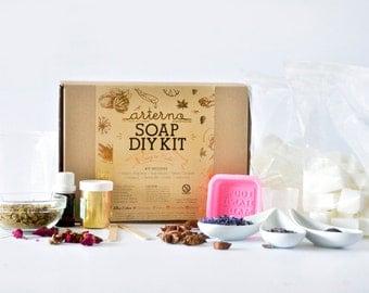 DIY Kit Organic Soap | Gift Craft Box