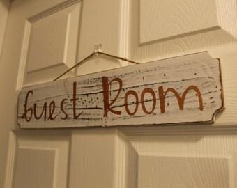 Guest Room Plaque