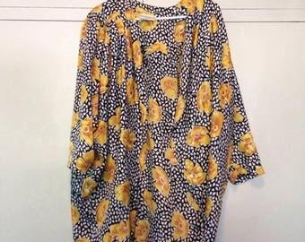 Vintage women's kimono/cape free size