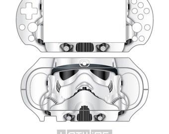 Playstation VITA 2000 (Ps Vita Slim) - Star Wars - STORMTROOPER Edition Skin Kit