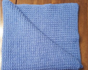 Royal Blue Baby Blanket